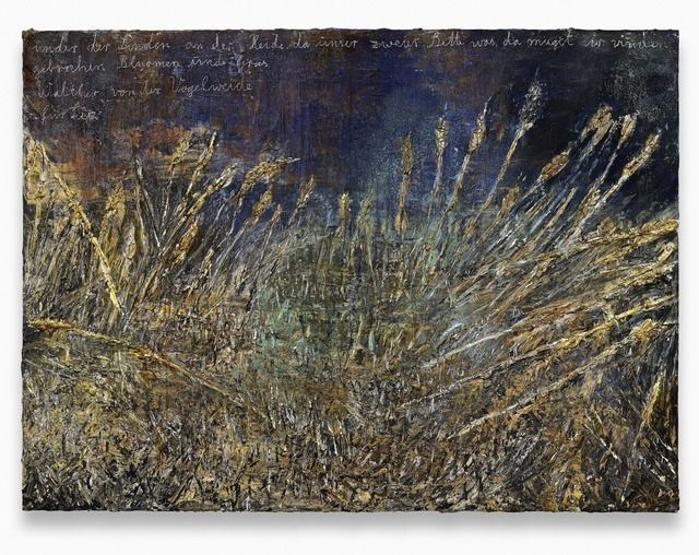 Anselm Kiefer, Under der                       Linden